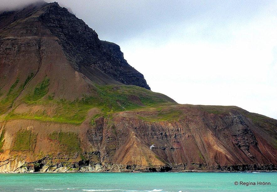 The view from Njarðvíkurskriður - Borgarfjörður-Eystri