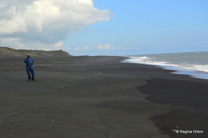 The black beaches of Iceland