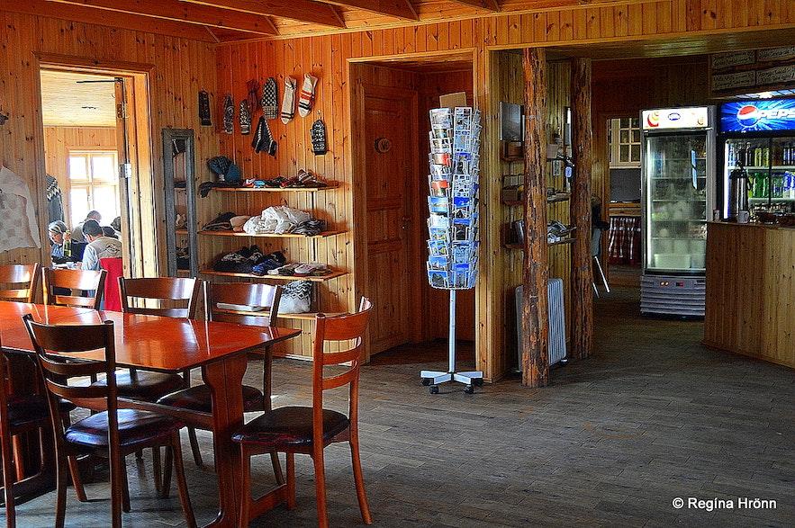 Inside Fjallakaffi restaurant at Möðrudalur