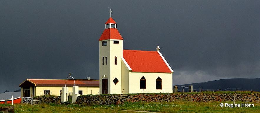 Möðrudalskirkja church Möðrudalur