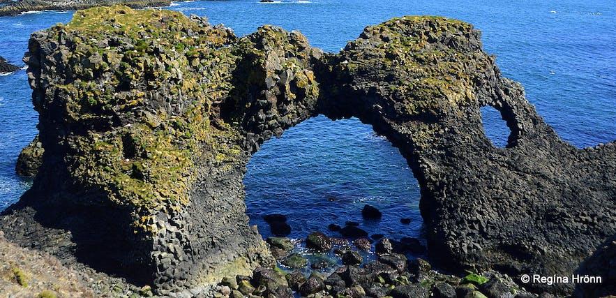 Gatklettur arch rock at Arnarstapi