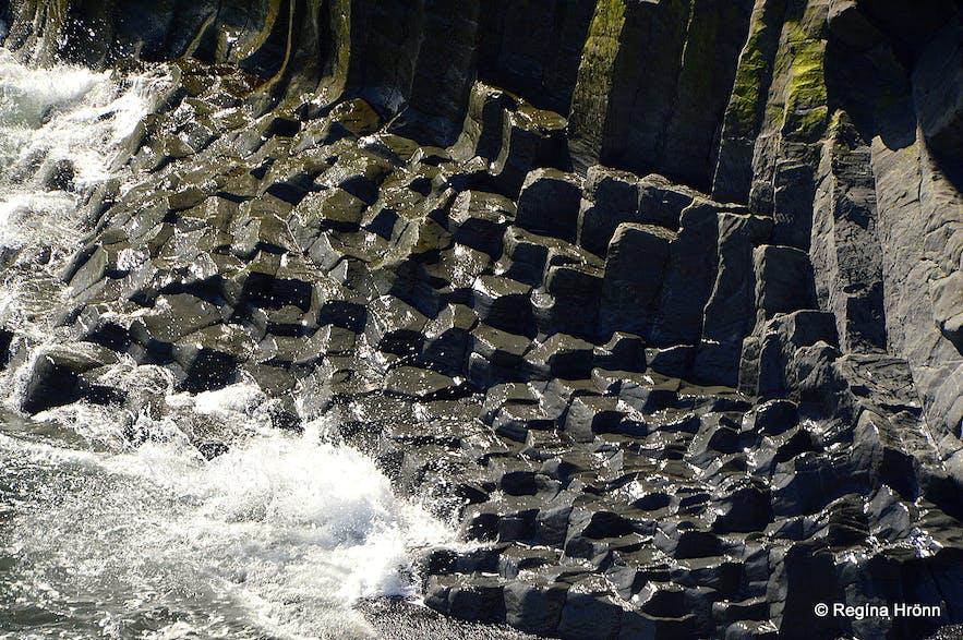 Basalt columns at Arnarstapi Snæfellsnes