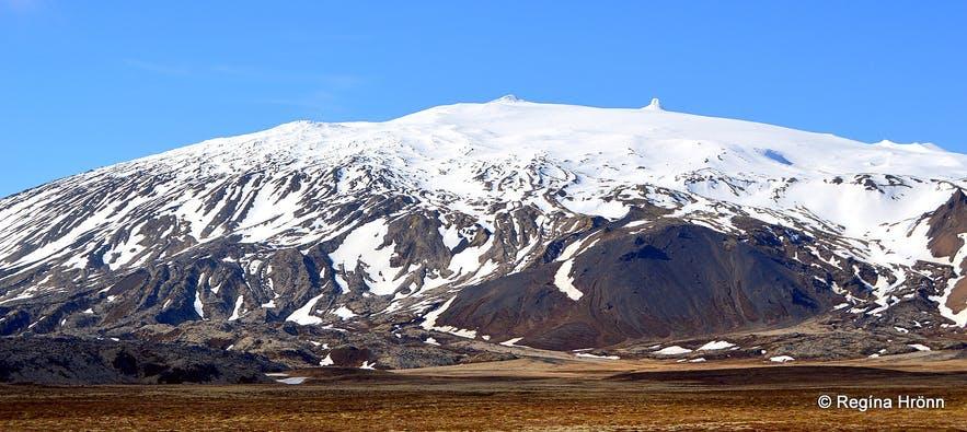 Snæfellsjökull glacier West Iceland