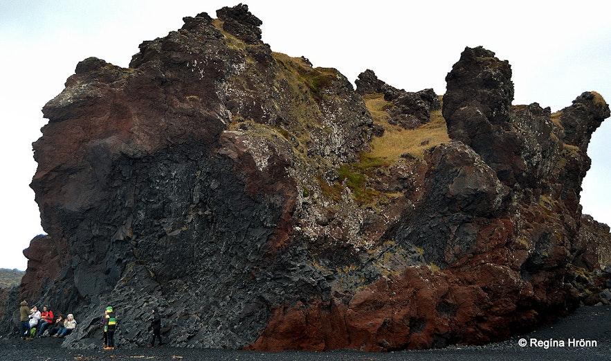 Söngklettur - Singing Rock at Djúpalónssandur