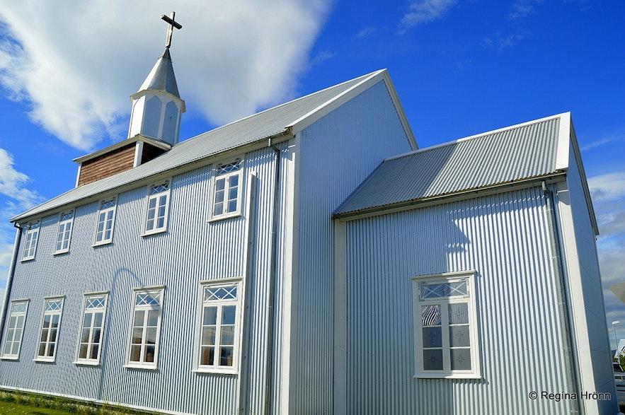 Eyrarbakkakirkja church in Eyrarbakki