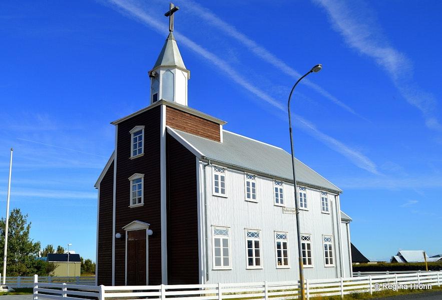 Eyrarbakkakirkja church at Eyrarbakki