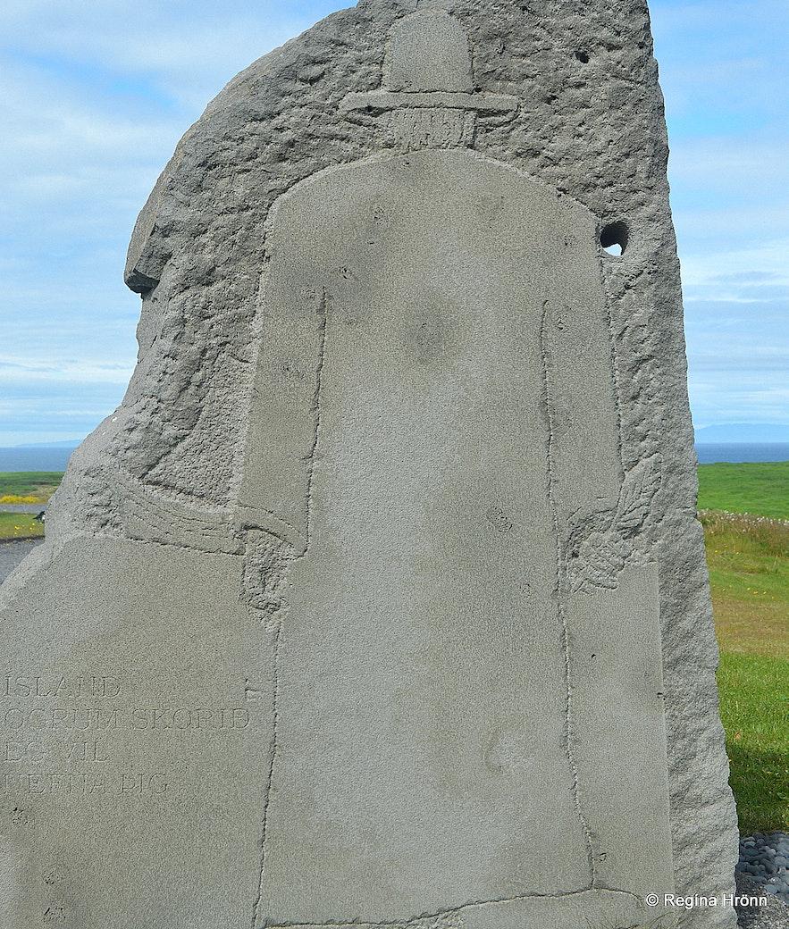 Ingjaldshóll monument Snæfellsnes