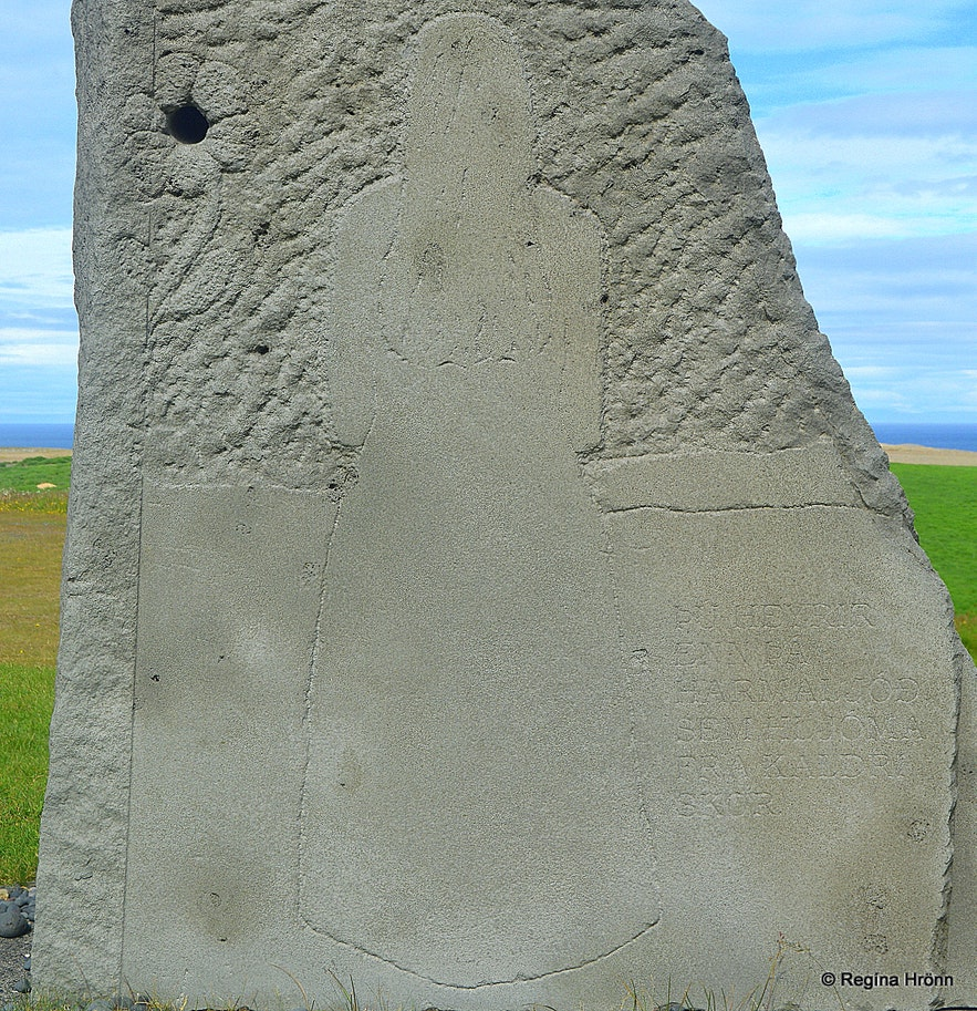 The monument at Ingjaldshóll Snæfellsnes