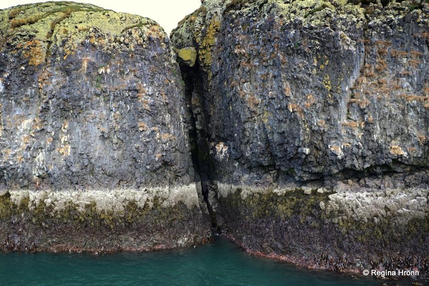 Hvítabjarnareyja island in Breiðafjörður