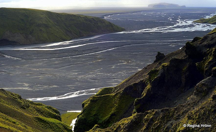 Höfðabrekkuheiði in South-Iceland