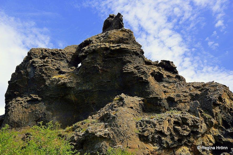 Dimmuborgir at Mývatn North-Iceland