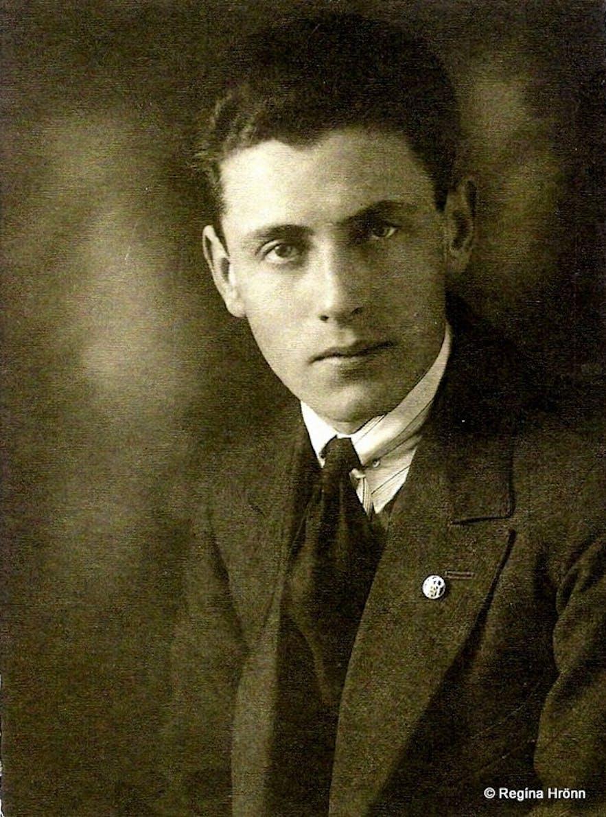 Regína's grandfather Kjartan Ásmundsson, who lived in Grundarfjörður West-Iceland