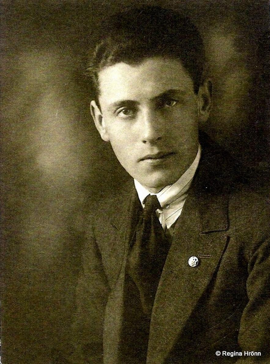 Regína's grandfather Kjartan Ásmundsson