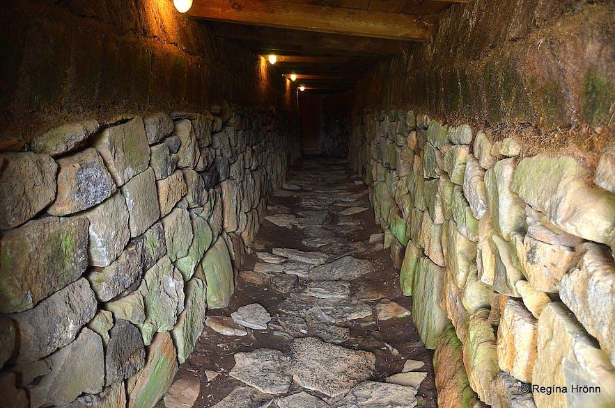 The medieval tunnel at Skálholt