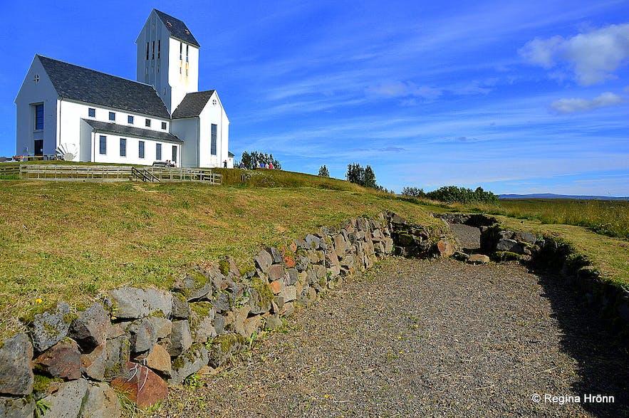 The archaeological site at Skálholt S-Iceland