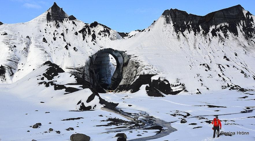 Katla ice cave in 2021