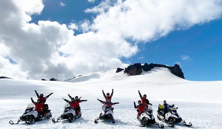 Schneemobil-Tour auf dem Vatnajökull   ab Südostisland
