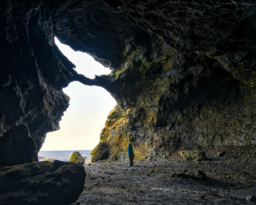 Yoda's cave in Iceland features in Star Wars.
