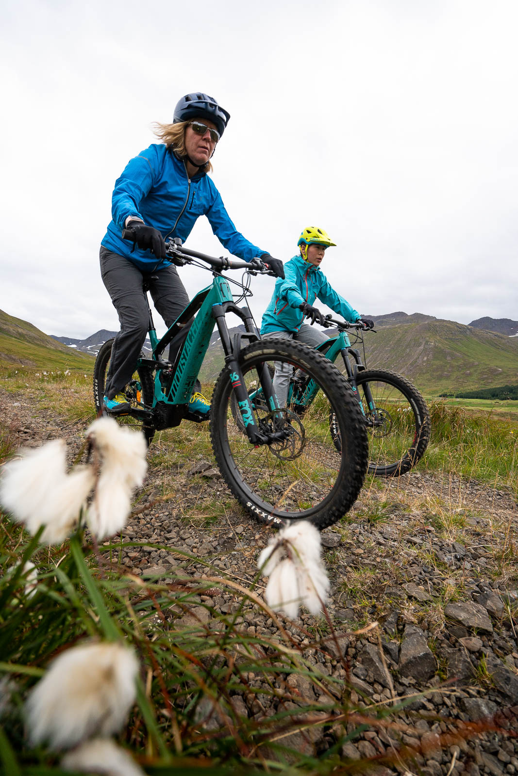 Race around the landscapes of Siglufjordur on an electronic bike!