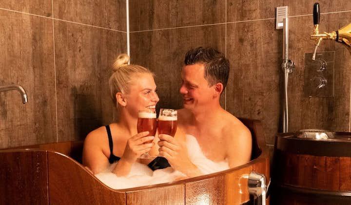 Unforgettable 1 Hour Bjorbodin Beer Spa Tour in North Iceland