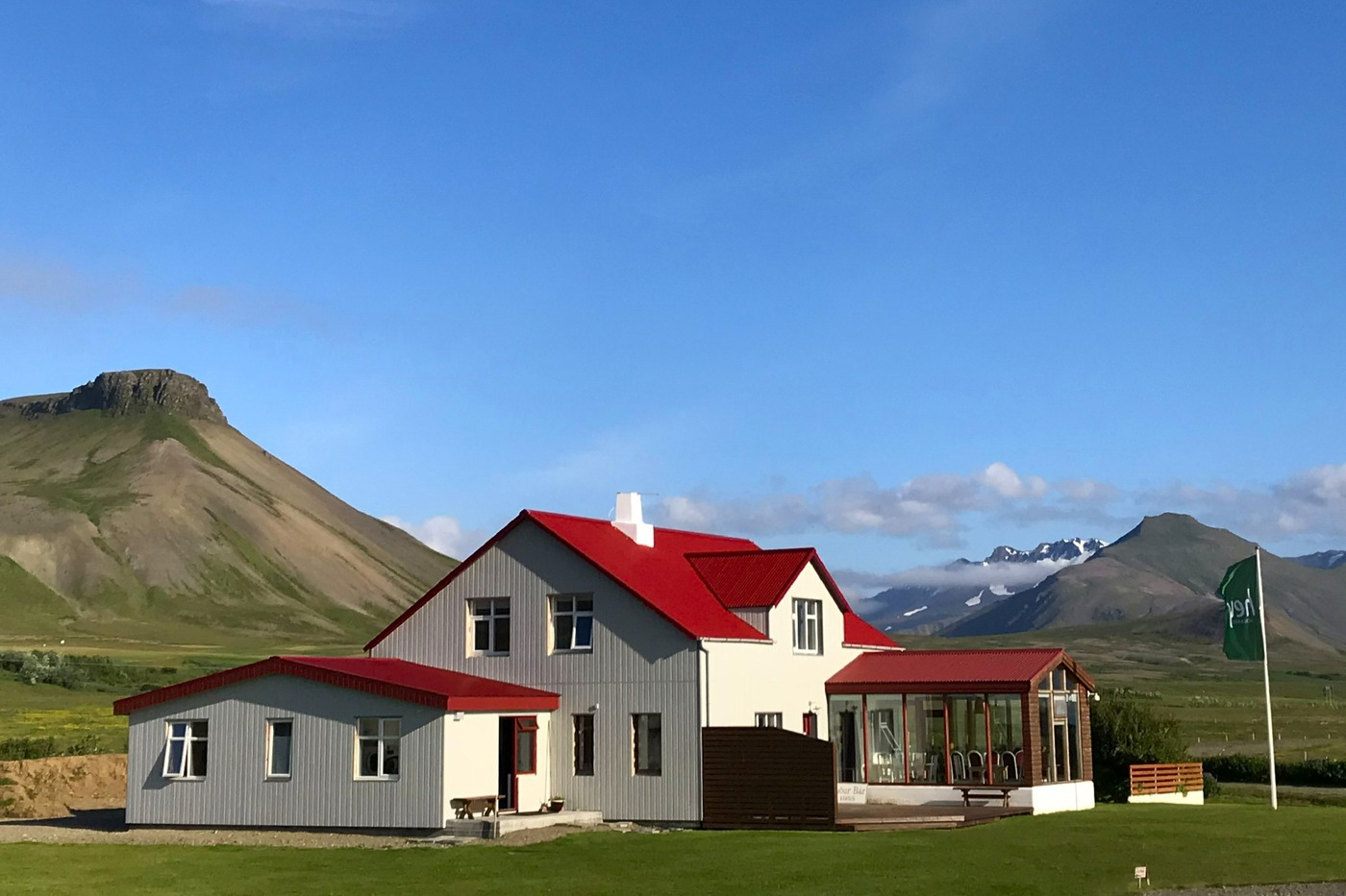 The Sudar Bar Guesthouse in Iceland.