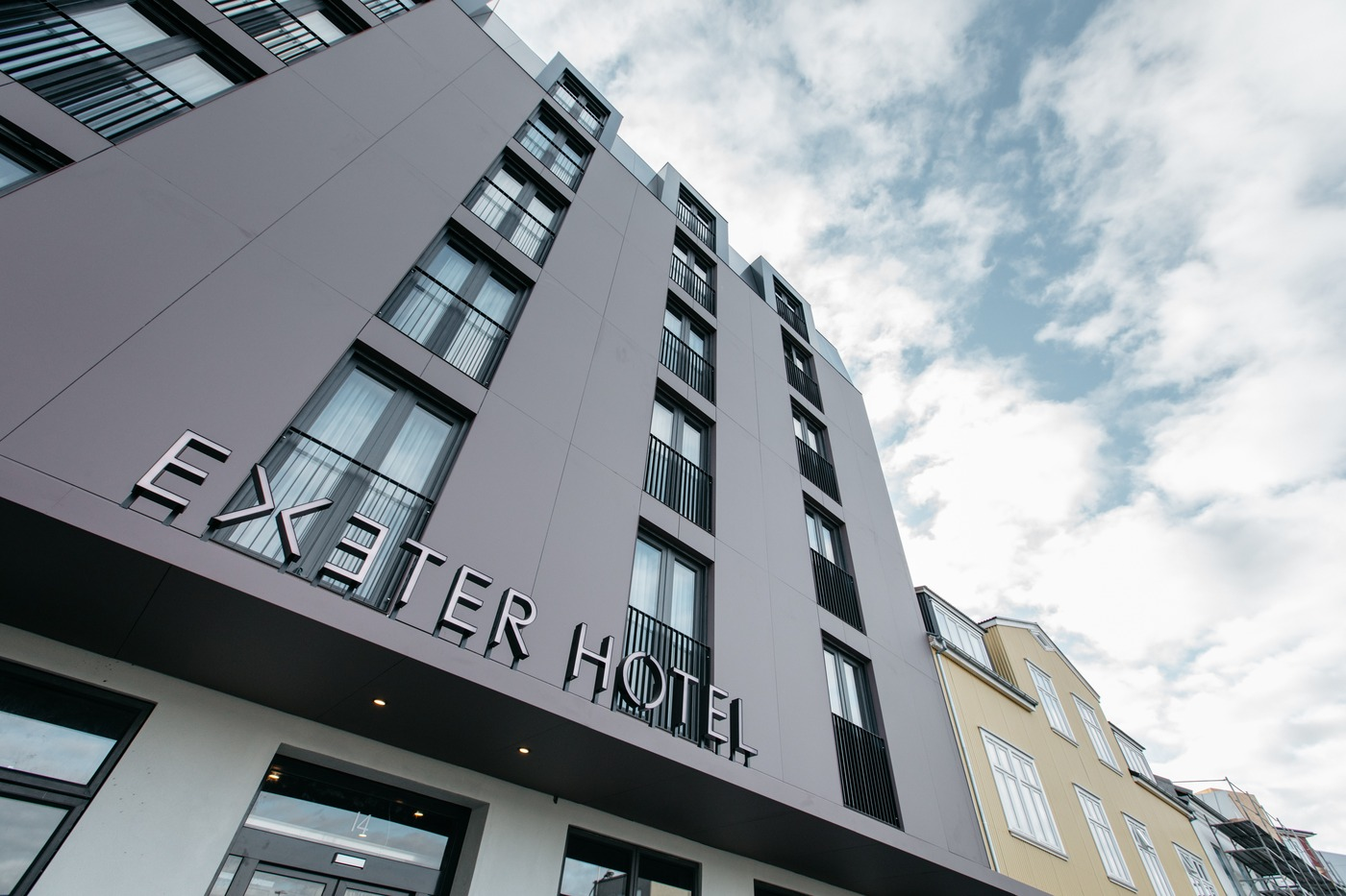 The Exeter Hotel is a modern hotel in downtown Reykjavik.
