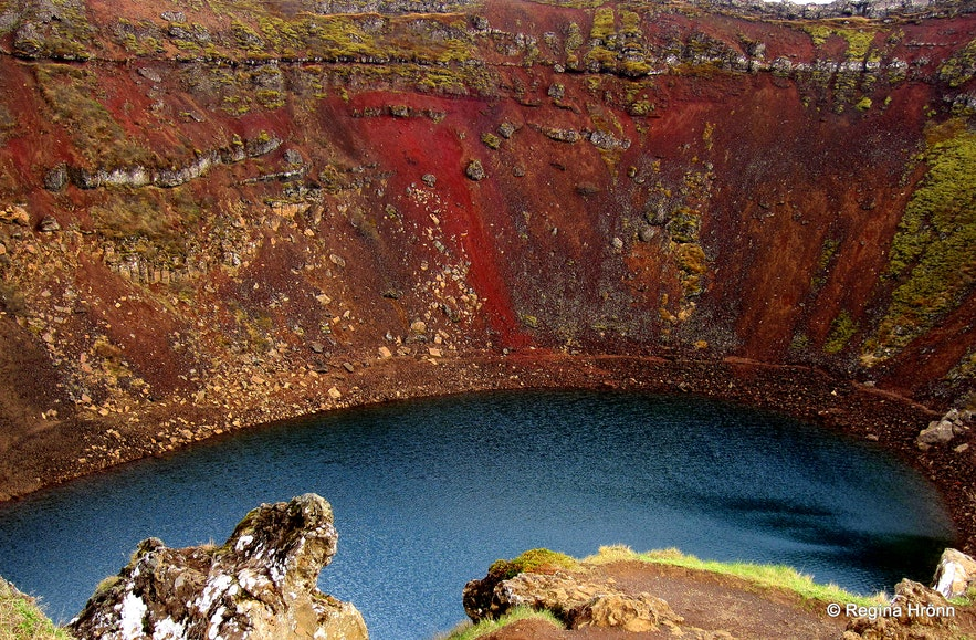Kerið crater South-Iceland