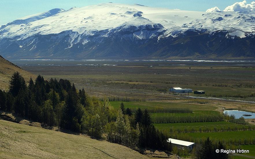 Eyjafjallajökull glaicer