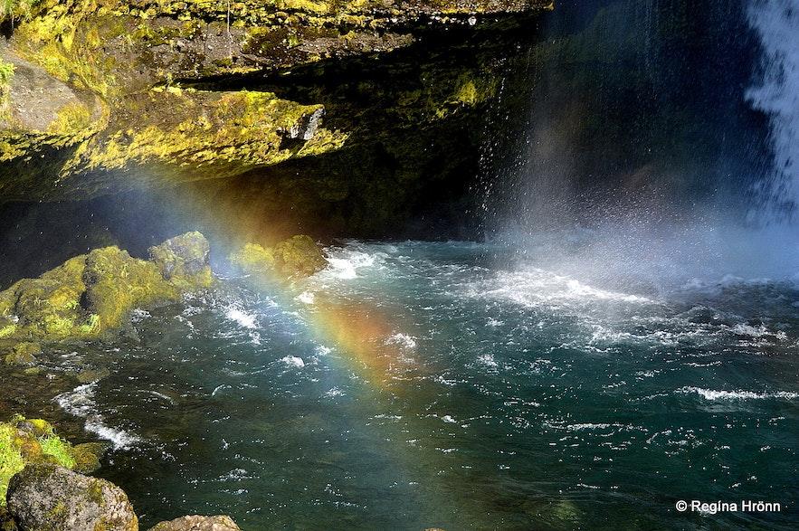 Rainbow by Gluggafoss