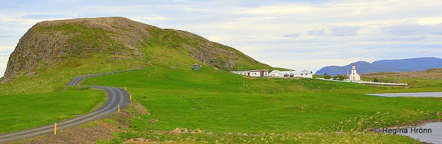Mt. Helgafell on the Snæfellsnes peninsula