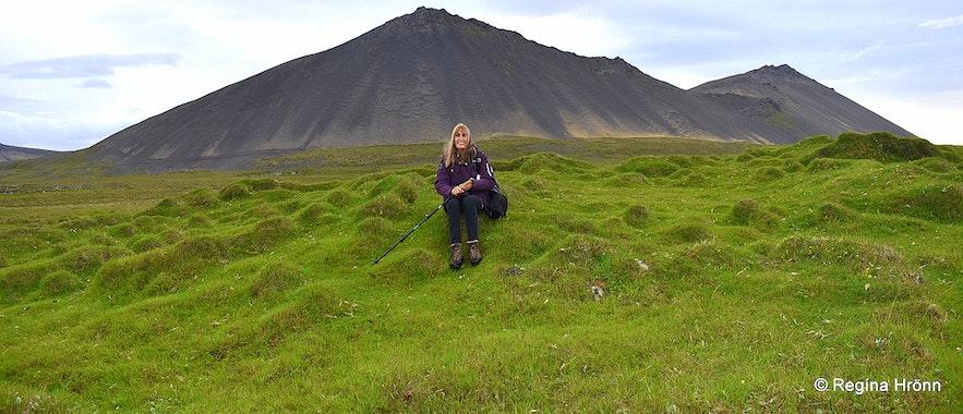 Regína at Öndverðareyri Snæfellsnes