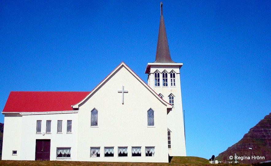 Grundarfjarðarkirkja church Grundarfjörður Snæfellsnes