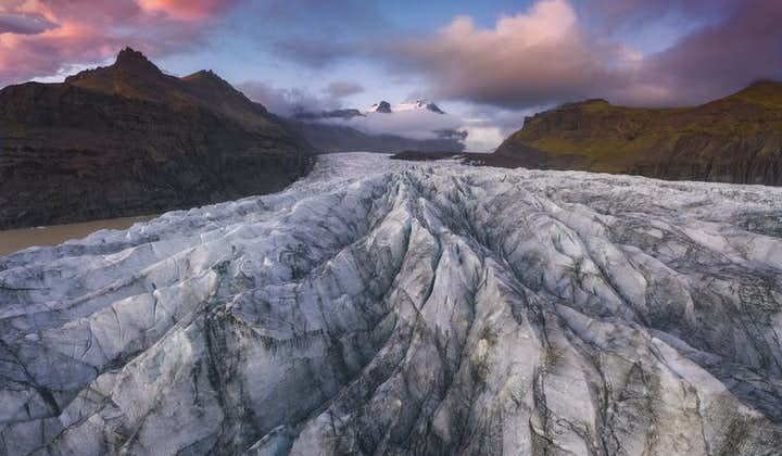 Skaftafell is famed for its glaciers.