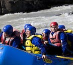 River Rafting Adventure in Gullfoss Canyon