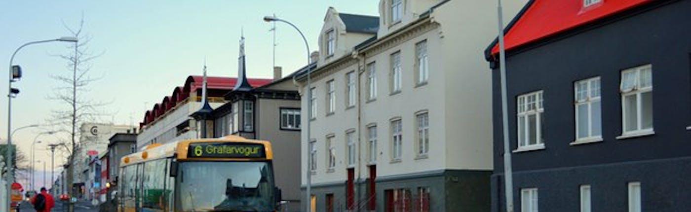 Автобусы в Рейкьявике и Исландии