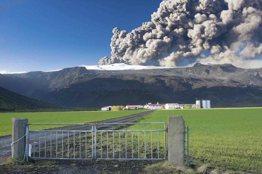 Влияние вулканов на жизнь исландцев