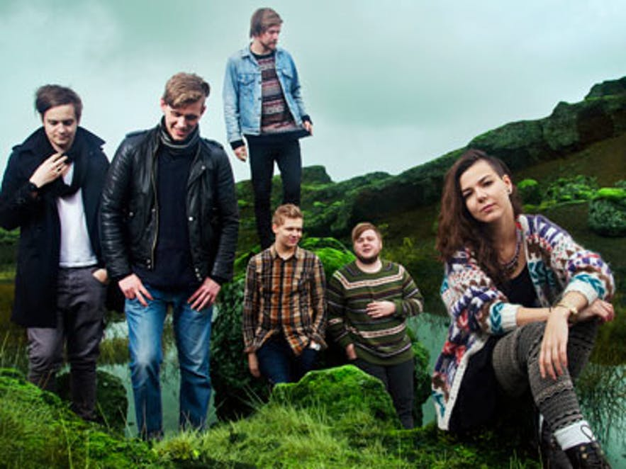 Iceland is the proud parent of the band Of Monsters and Men.