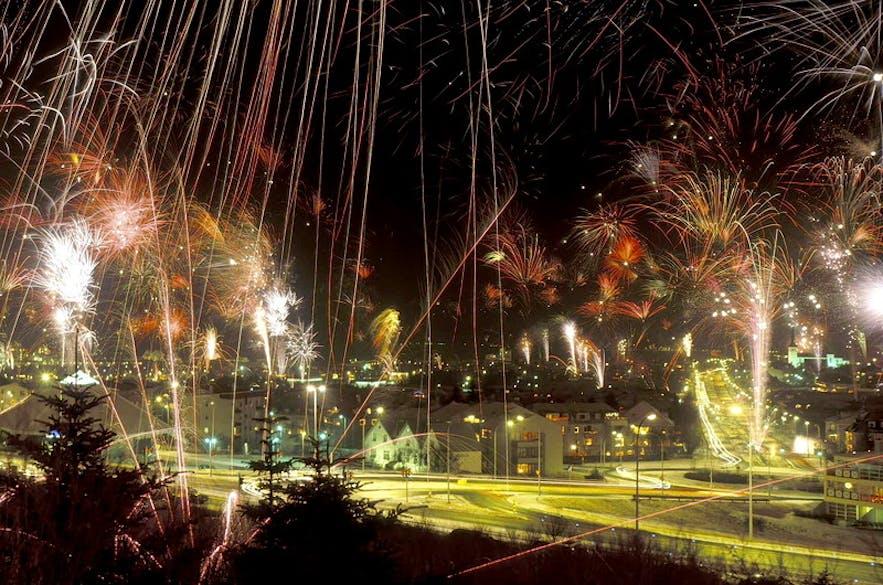 celebrating new year s eve in reykjavík the capital city of iceland