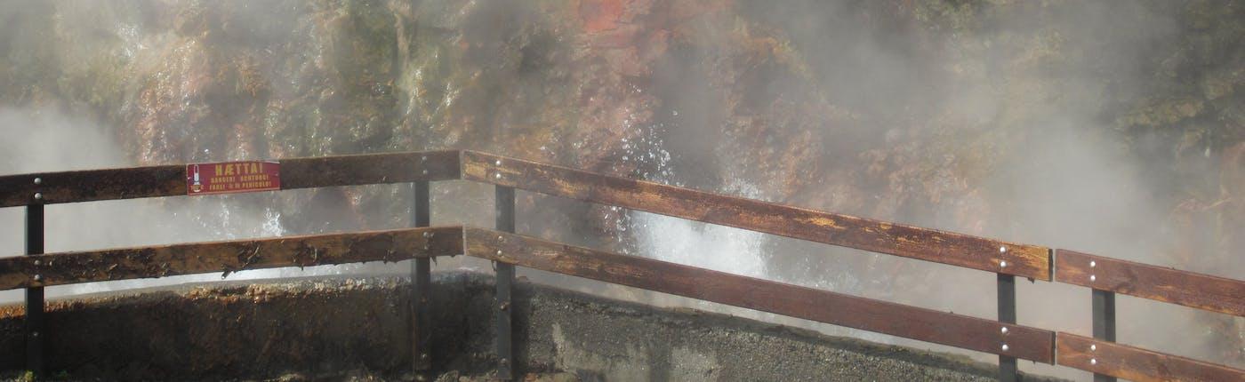Geothermal Power From Deildartunguhver Hot Spring