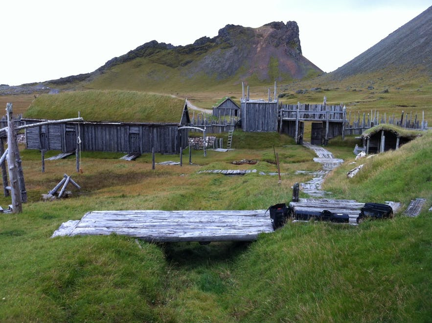 Movie sets in Iceland